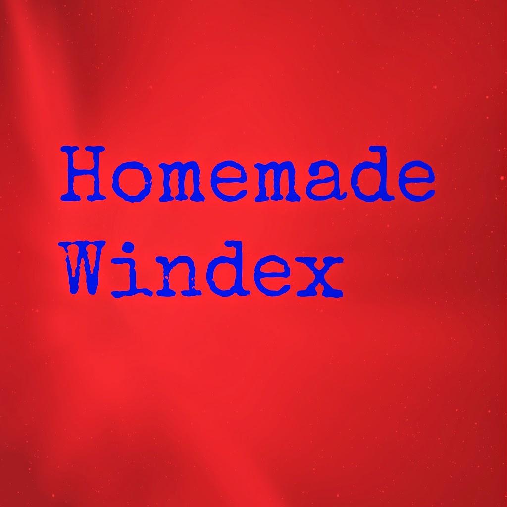 Homemade Windex