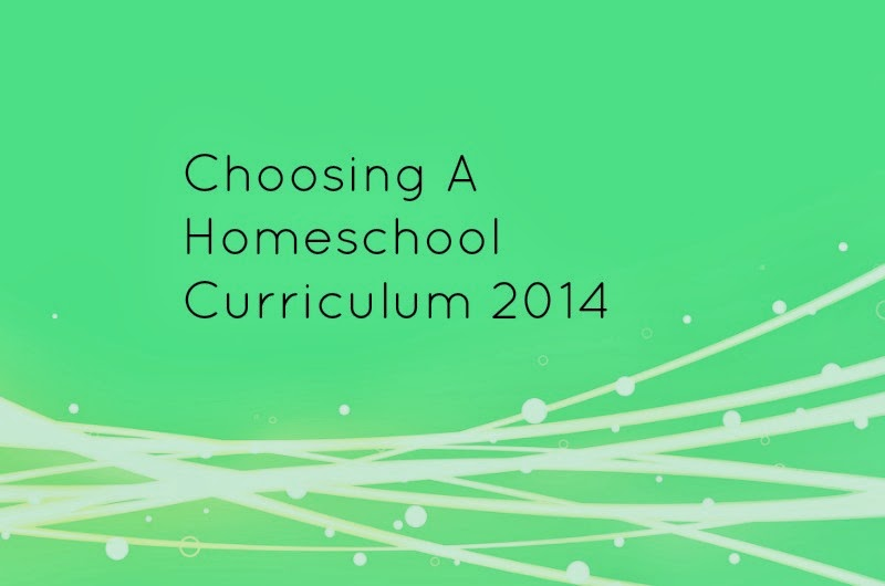 Choosing A Homeschool Curriculum