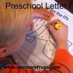 Preschool:  Letter F Week