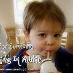 Tips For Surviving With Kids In Public