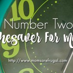 Number Two Timesaver For Moms