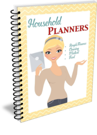 Moms Are Frugal Household Planner
